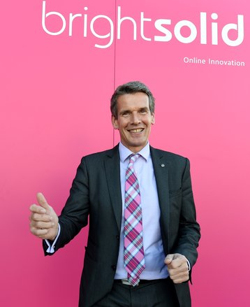 Richard Higgs, CEO of Brightsolid