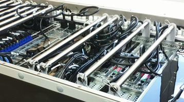 Ruselectronics Immersion Cooled Supercomputer