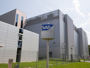 An SAP data-center in St Leon Rot, Germany