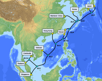 SJC2 Route Map