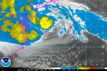 Sandy satellite NOAA