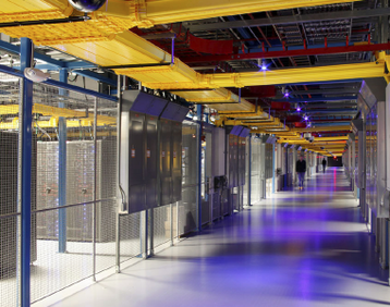 Inside Equinix data center