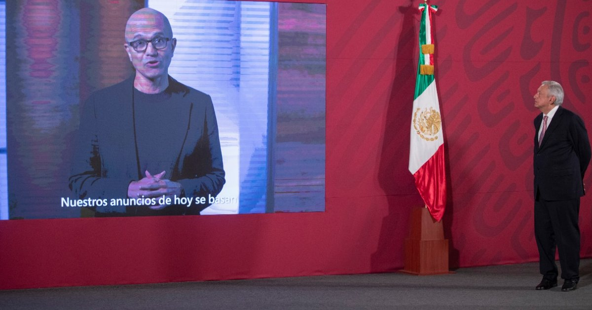 Microsoft invests $1.1bn into Mexico as it plans new cloud region