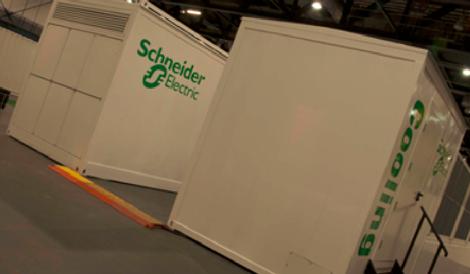 Schneider Electric's data center infrastructure modules
