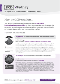 AUS 2019 Mee the speakers guide #2