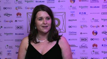 DCD Awards 2019 Video - Sarah Davey