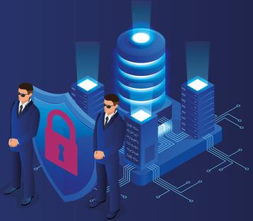 Security guards data center