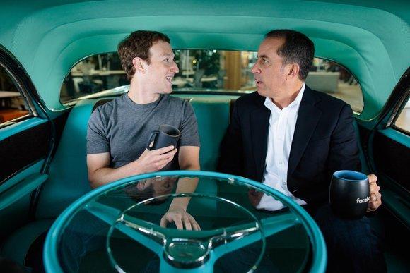 Seinfeld Zuckerberg