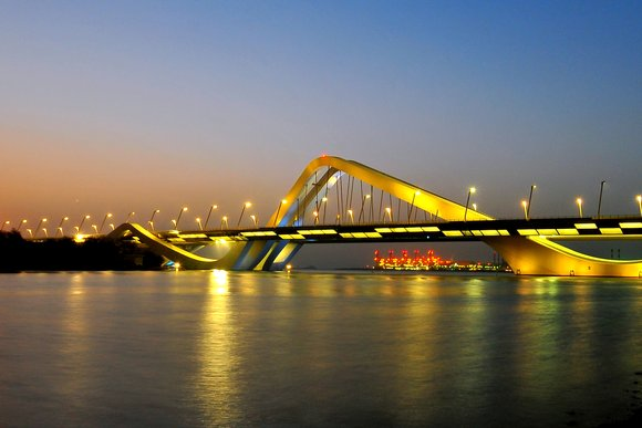 Sheikh Zayed Bridge, Abu Dhabi, UAE