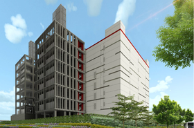 Artist's impression of Singtel's new DC West data center