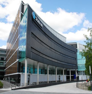 Headquarter of Statkraft at Lysaker, furthest Southwest in Oslo municipality, Norway