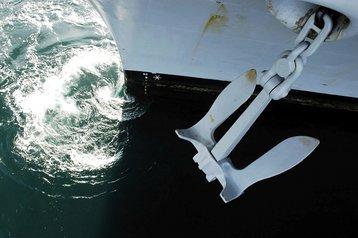 Raising anchor