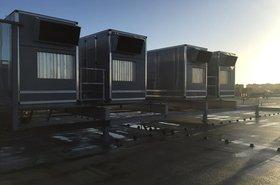 Air handling units at AMS1