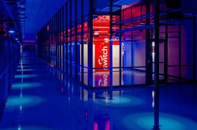 Inside Switch data center