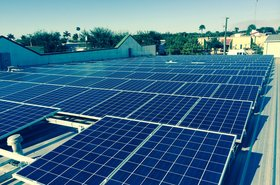 Synergy Network's solar array