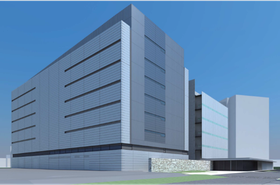 Concept image of scheduled data center addition to TDC2 site