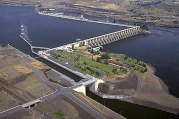 the dalles dam wikipedia lead