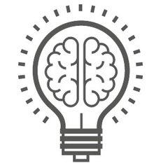 bulb brain icon