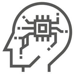 ai head icon
