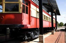 Plano Texas old train