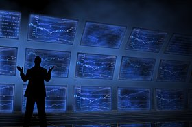 Stock exchange screens