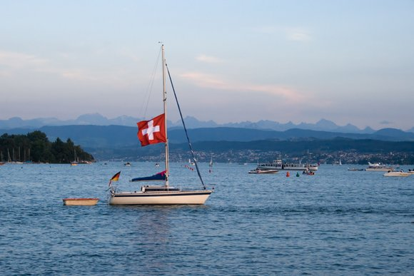 Lake Zurich, Switzerland