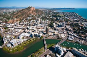 Aerial view of Townsville, Queensland, Australia