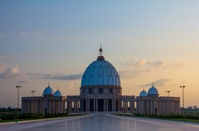 Yamoussoukro 'Basilica of Our Lady of Peace,' Côte d'Ivoire