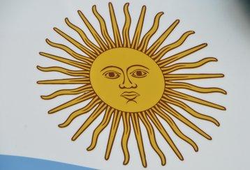 Argentina sun flag