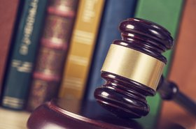 a judge's mallet