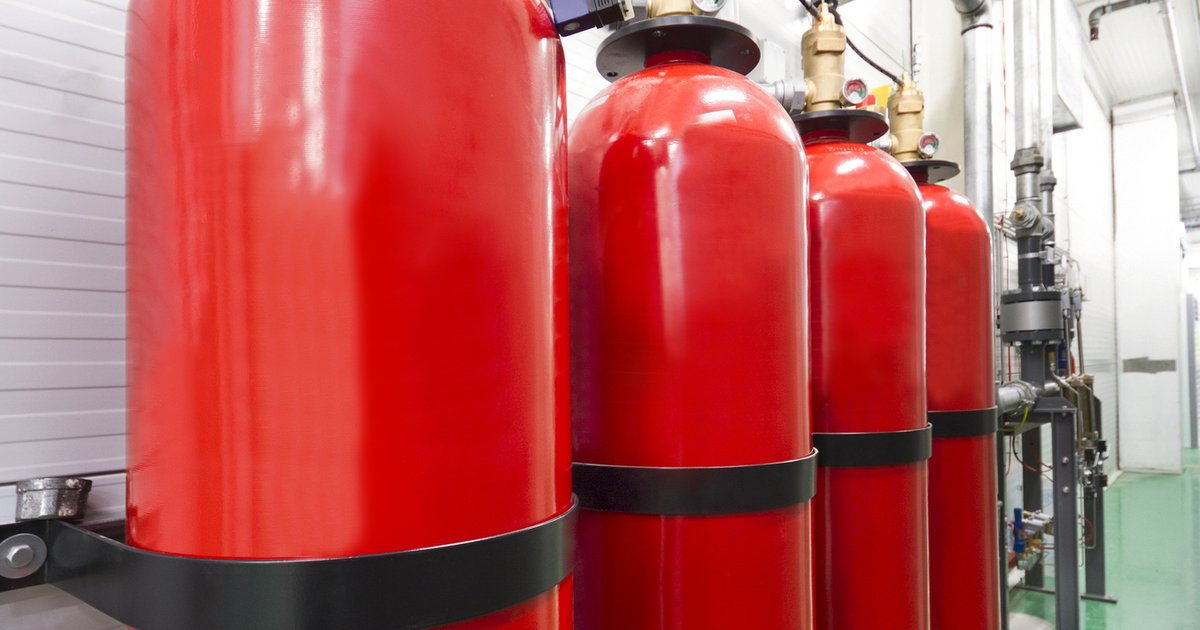 Gas Suppression System Fire Extinguisher Cause Outage In