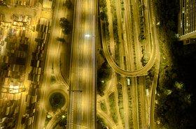 Aerial view of Kwai Chung, Hong Kong