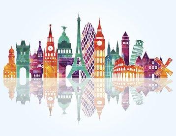 Eurooean landmarks