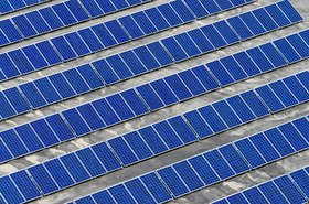 A solar farm, somewhere in South Australia
