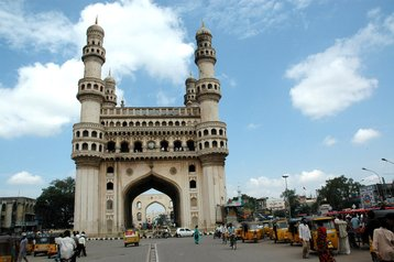 Charminar monument in Hyderabad, India