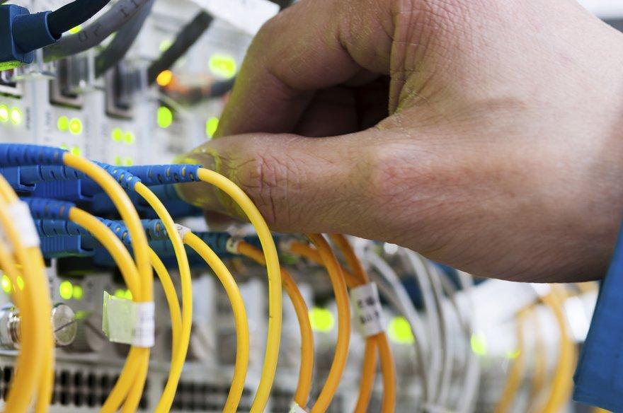 Fiber Ethernet network 25GbE