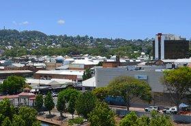 The city of Toowoomba, Queensland, Australia
