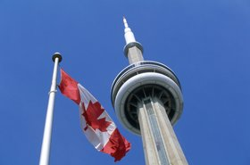Toronto Ontario Canada CN Tower - Thinkstock Purestock