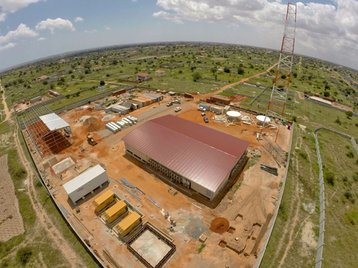 Flexenclosure's turnkey prefabricated modular data center in Angola