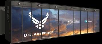 US Air Force Cray HPE ORNL