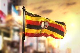 Ugandan flag