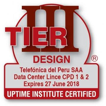 Tier III Design certificate