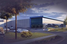 Graphic rendering of Urbacon's DC2, Richmond Hill, Ontario