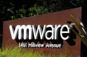 At VMware's headquarters in Palo Alto, California. Source: VMware Facebook page