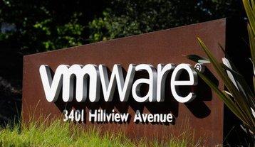 At VMware's headquarters in Palo Alto, California. Source: VMware Facebook page