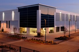 One of three data center buildings on Vantage's Santa Clara, California, data center campus