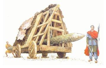 A Viking ram