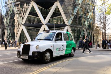 Virtus London cab