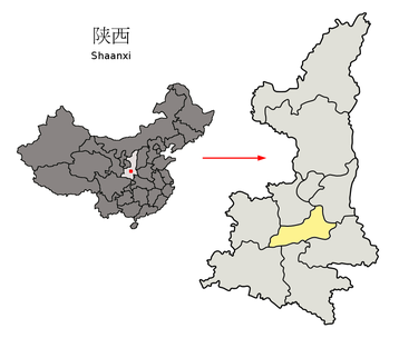 xi'an in Shanxi Pronvince