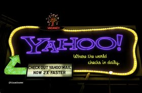 The Yahoo billboard